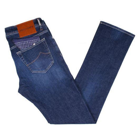 Mid-Blue Wash Premium J688 Slim Fit Jeans