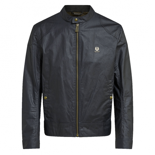 Dark Navy Kelland Waxed Jacket