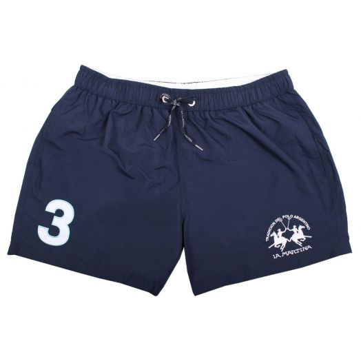 Navy 'Micheal' Swim Shorts