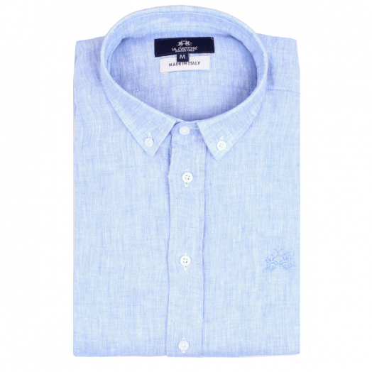 Blue Bell Regular Fit Long Sleeve Linen Shirt