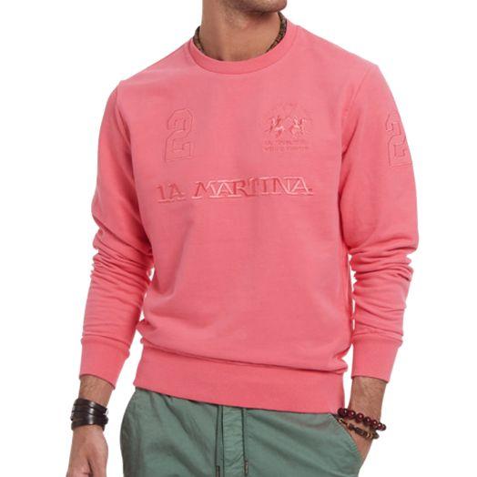 Calypso Coral Brushed Cotton Sweatshirt