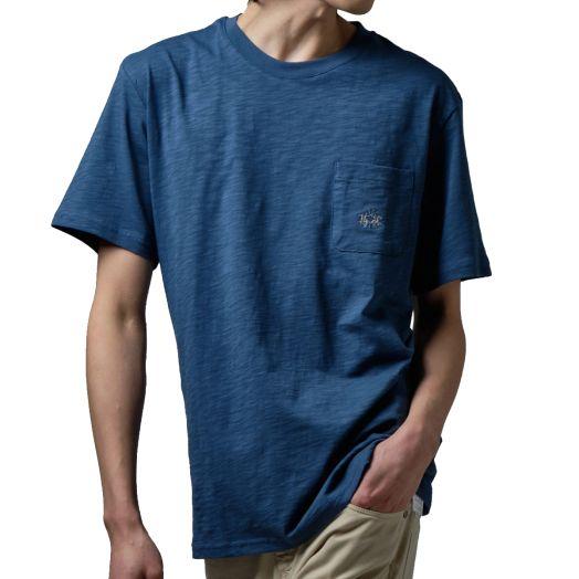 Ensign Blue Oversized Pocket T-Shirt