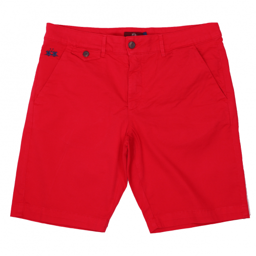 Formula One Bermuda Stretch Slim Fit Chino Shorts