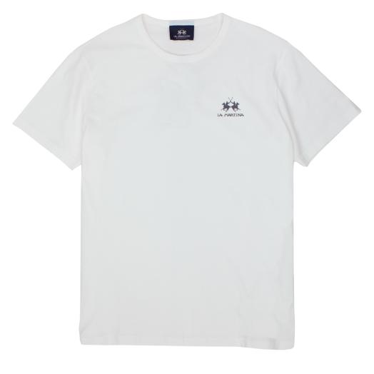 Off-White Cotton Jersey T-Shirt