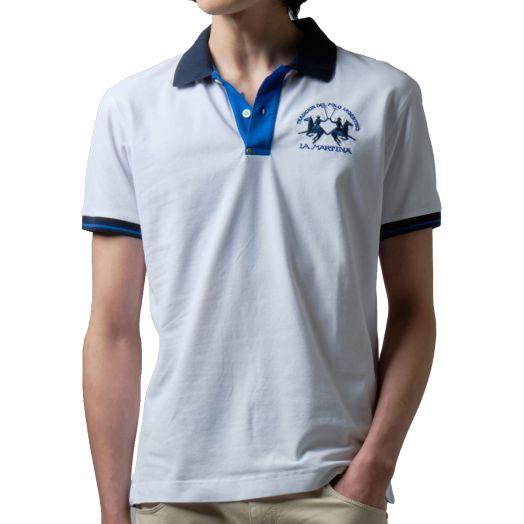 Optic White Slim Fit Stretch Cotton Polo Shirt