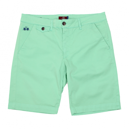 Spring Bud Bermuda Stretch Slim Fit Chino Shorts