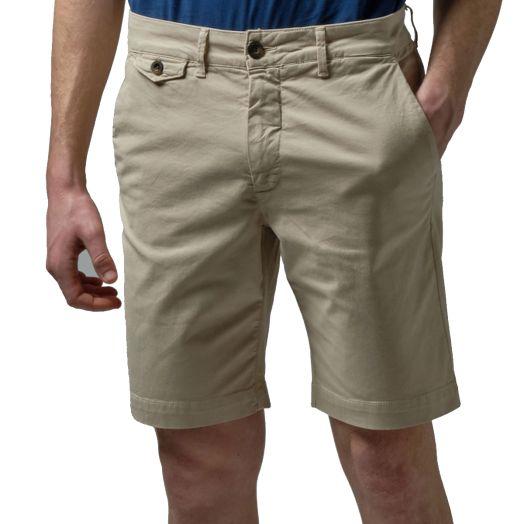 Tidal Foame Bermuda Stretch Slim Fit Chino Shorts