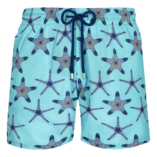 Lazulii Blue 'Starfish Dance' Mahina Swim Shorts