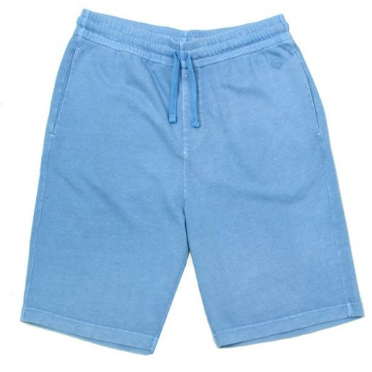 Light Blue Sweatpant Shorts