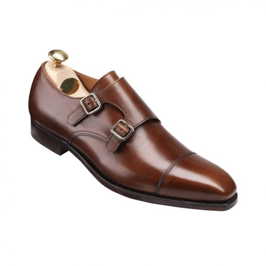 Lowndes Double Buckle Monk Shoes