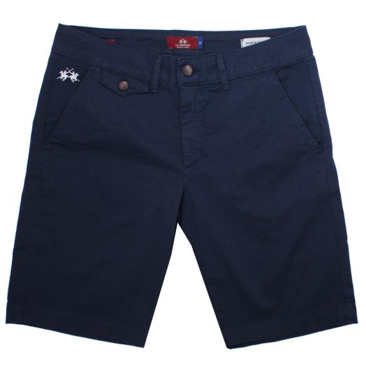 Navy Bermuda Chino Shorts