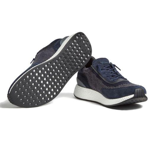 Navy TECHMERINO™ Suede Piuma Sneakers