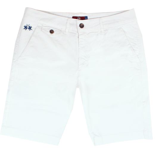 Optic White Bermuda Chino Shorts
