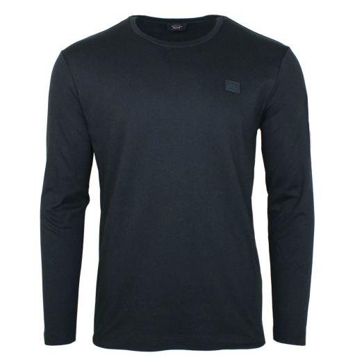 Black 100% Cotton Lightweight Sweatshirt