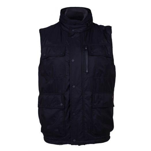 Navy Fleece Lined Gilet