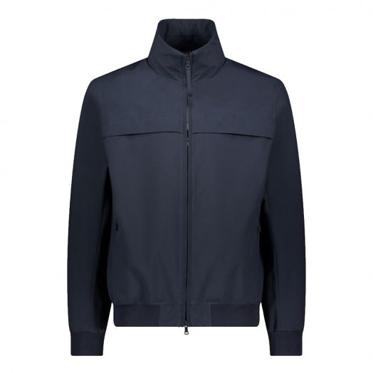 Navy Giraglia Typhoon Technical Fabric Jacket