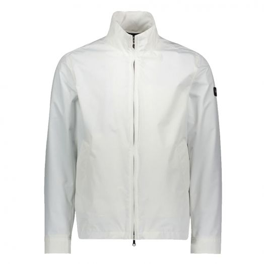 White Technical Fabric Jacket