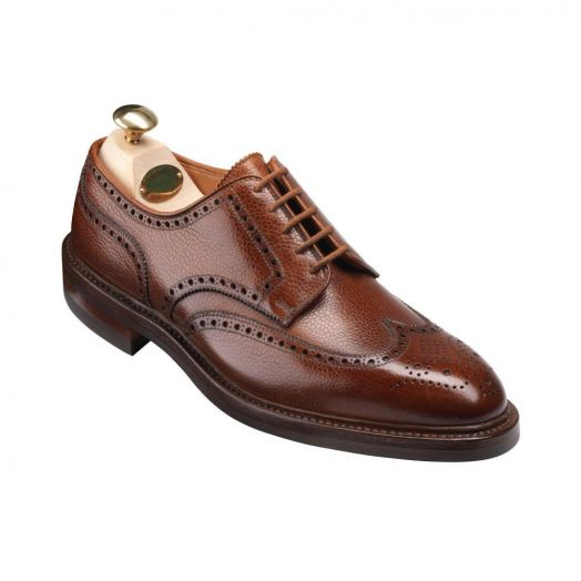 Pembroke Tan Scotch Grain Shoes - G Fitting