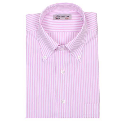 Pink & White Stripe Premium Cotton Shirt