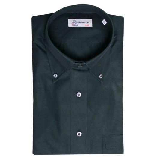 Dark Green Premium Cotton Shirt