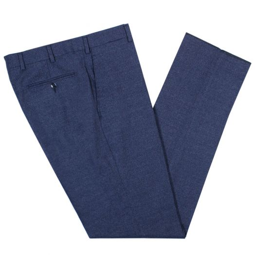Blue Merino Tailored Trousers
