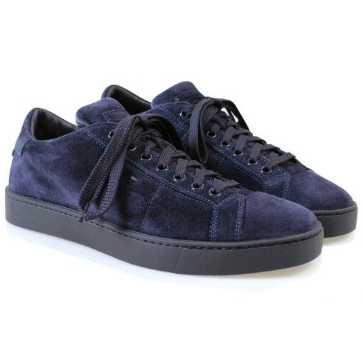Midnight Blue Suede Sneaker