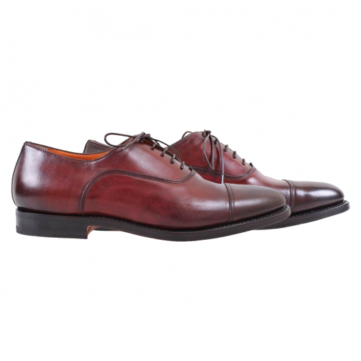 Mahogany Brown Oxford Lace up