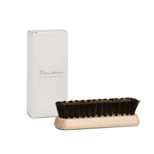 Nylon & Brass Small Suede Brush