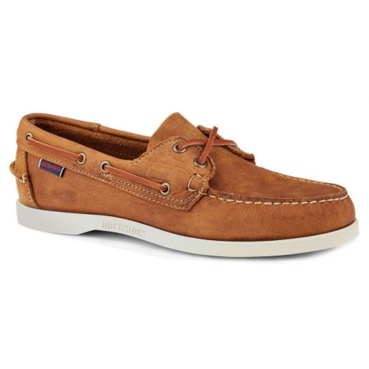 Brown Tan Dockside Portland Boat Shoe