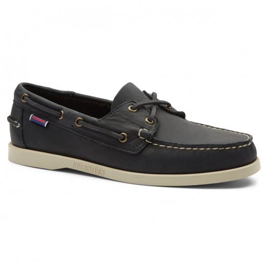 Blue Navy Dockside Portland Boat Shoe
