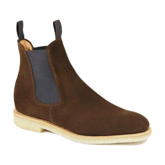 Clint Snuff Suede Chelsea Boot