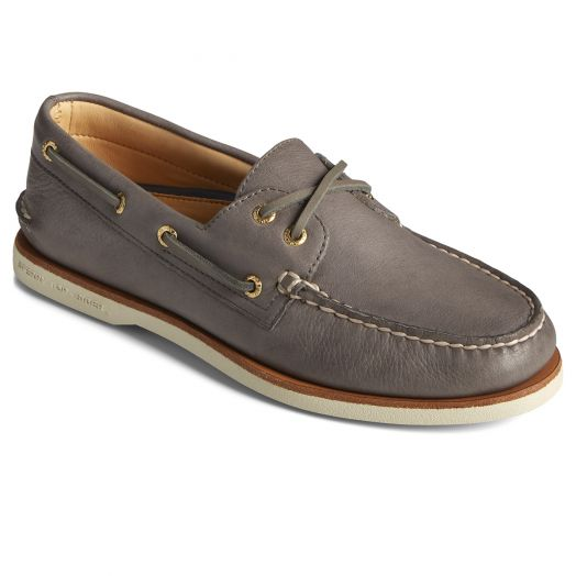 Charcoal Gold Cup Authentic Original 2-Eye Boat Shoe