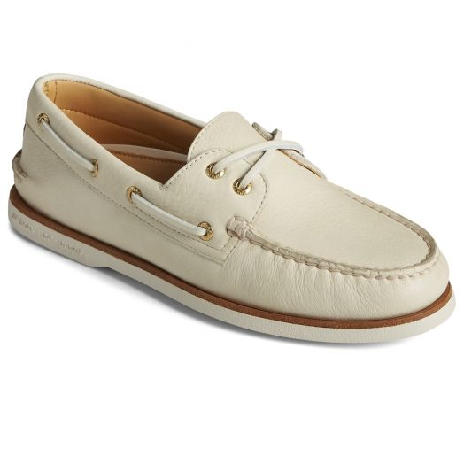 Cream Gold Cup Authentic Original 2-Eye Boat Shoe