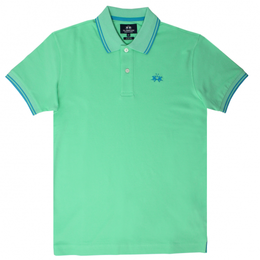 Spring Bud Slim Fit Stretch Cotton Polo Shirt
