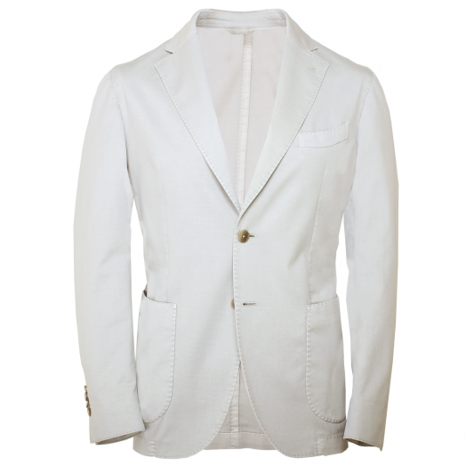 Stone Stretch Cotton Blazer