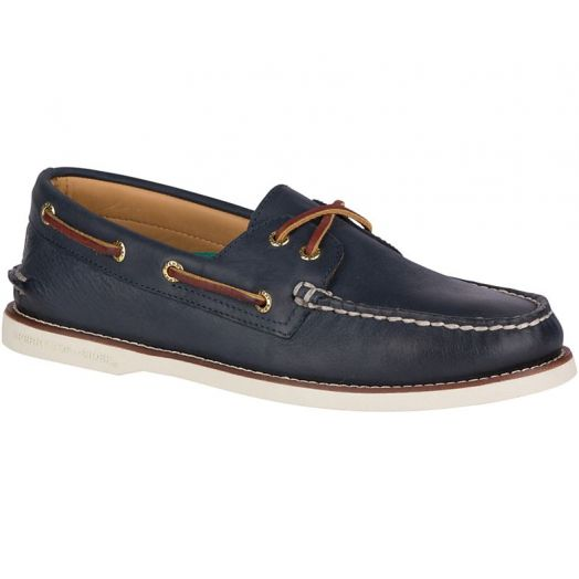 Navy Gold Cup Authentic Original Boat Shoe