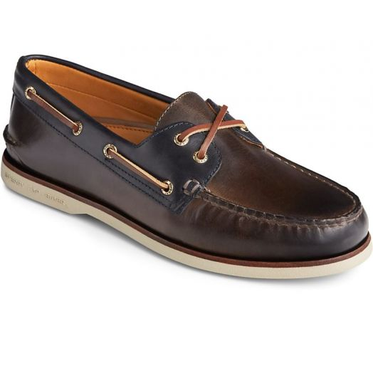 Fossil / Blue Men's Gold Cup Authentic Original Camden Boat Shoe