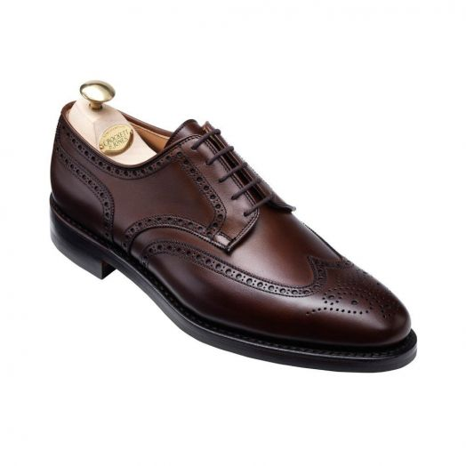 Swansea Full Brogue Derby Shoes