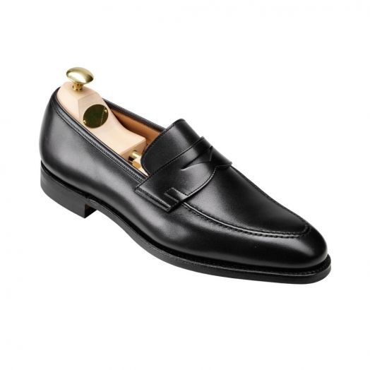 Sydney Black Calf Penny Loafer City Sole