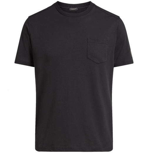 Black Cotton Thom 2.0 Jersey T-Shirt
