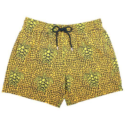 Citron 'Shell Turtles' Print Moorise Swim Shorts