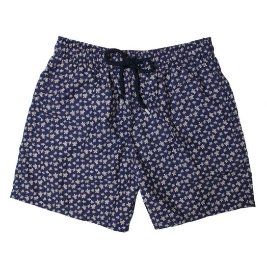 Micro Gold Turtles Moorea Fit Swim Shorts