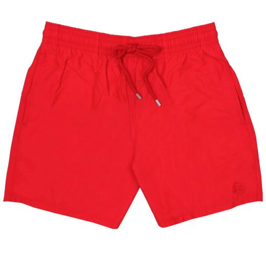 Red Water-Reactive Moorea Fit Swim Shorts