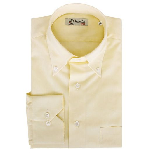 Yellow Premium Cotton Shirt