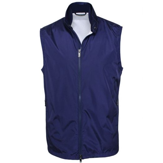 Blue Light Shell Foldaway Gilet