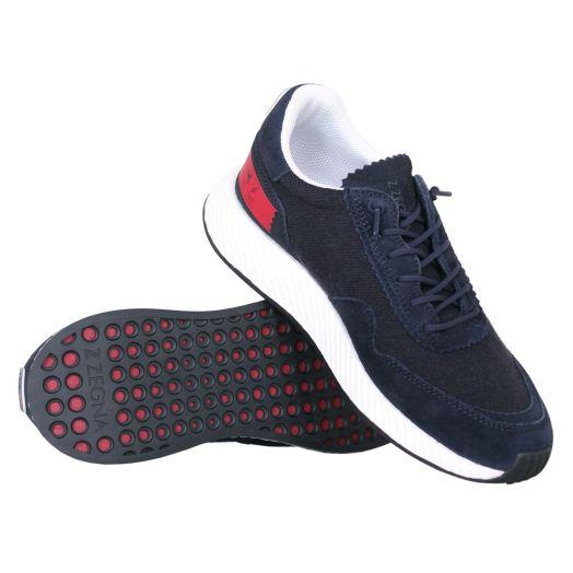 Navy TECHMERINO Sneakers