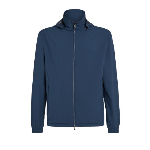 Avio Blue Microfiber Short Jacket