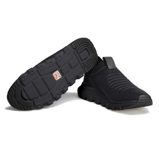 Black TECHMERINO™ Sock 2.0 Sneakers