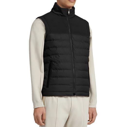 Black #UseTheExisting™ Eco Nylon Padded Vest