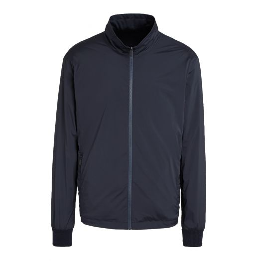 Blue Reversible TECHMERINO Microlite Jacket